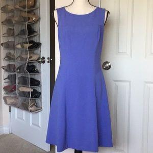 Lovely WHBM Periwinkle Dress